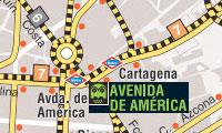 mapa autobuses nocturnos de madrid