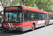 fotografía autobús de la EMT de madrid