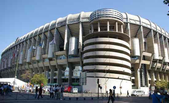 Estadio santiago bernabeu for Puerta 8 bernabeu