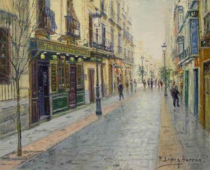 Barrio de huertas for Hoteles en la calle prado de madrid