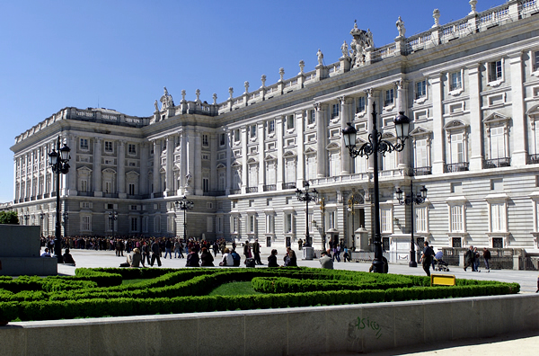 imagenes palacio real madrid: