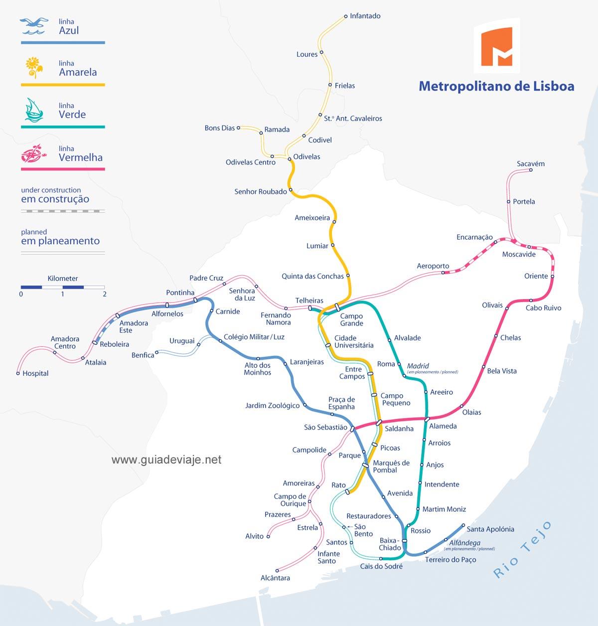 horario de tren metropolitano: